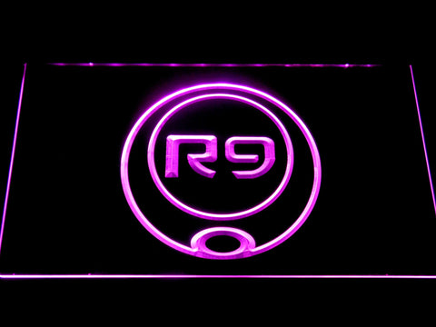 Ronaldo R9 LED Neon Sign - Purple - SafeSpecial