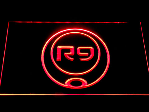 Image of Ronaldo R9 LED Neon Sign - Red - SafeSpecial