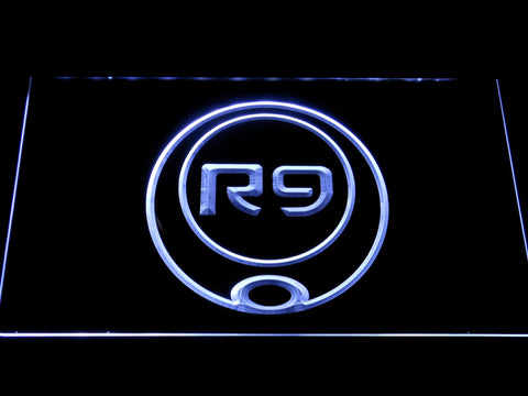 Ronaldo R9 LED Neon Sign - White - SafeSpecial