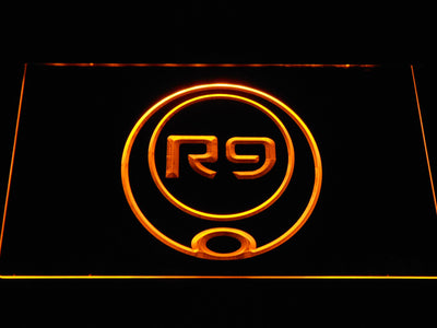Ronaldo R9 LED Neon Sign - Yellow - SafeSpecial