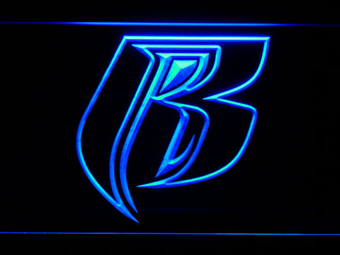 Image of Ruff Ryders LED Neon Sign - Blue - SafeSpecial