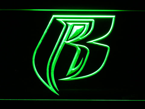 Image of Ruff Ryders LED Neon Sign - Green - SafeSpecial