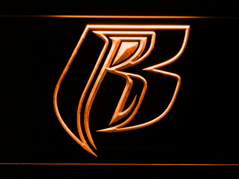 Image of Ruff Ryders LED Neon Sign - Orange - SafeSpecial