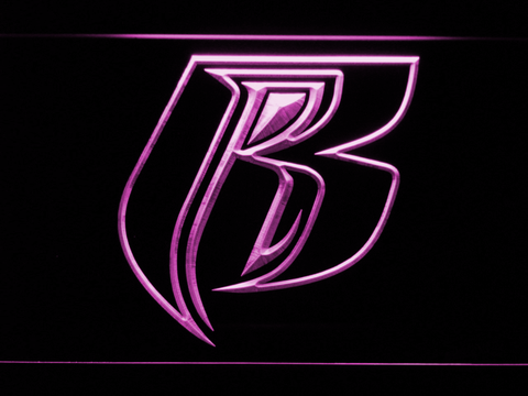 Image of Ruff Ryders LED Neon Sign - Purple - SafeSpecial