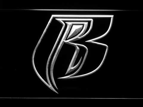 Image of Ruff Ryders LED Neon Sign - White - SafeSpecial