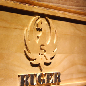 Ruger Wooden Sign - - SafeSpecial