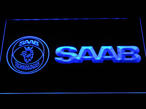 Image of Saab Technologies LED Neon Sign - Blue - SafeSpecial