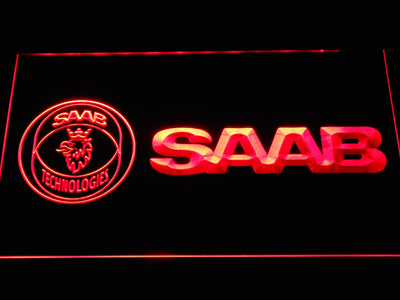 Saab Technologies LED Neon Sign - Red - SafeSpecial