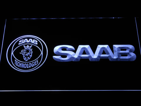 Image of Saab Technologies LED Neon Sign - White - SafeSpecial