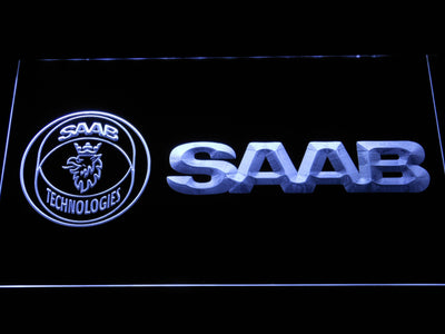 Saab Technologies LED Neon Sign - White - SafeSpecial