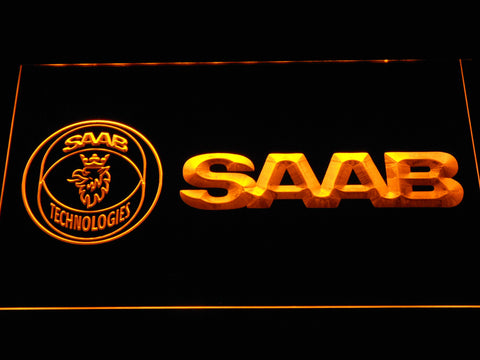 Image of Saab Technologies LED Neon Sign - Yellow - SafeSpecial