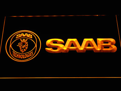 Saab Technologies LED Neon Sign - Yellow - SafeSpecial