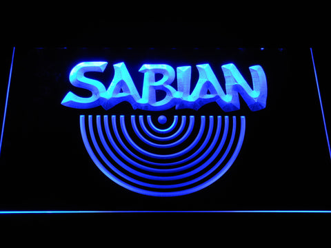 Sabian LED Neon Sign - Blue - SafeSpecial