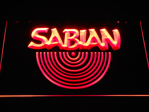 Sabian LED Neon Sign - Red - SafeSpecial