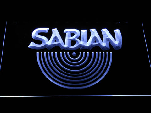 Sabian LED Neon Sign - White - SafeSpecial