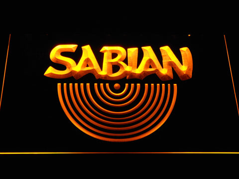 Sabian LED Neon Sign - Yellow - SafeSpecial