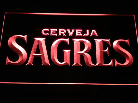 Image of Sagres LED Neon Sign - Red - SafeSpecial