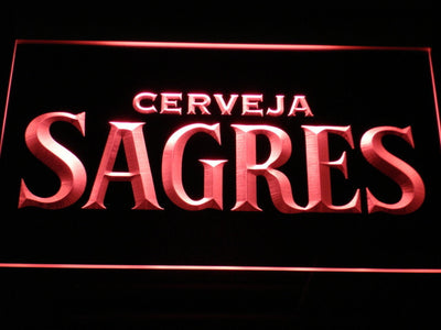Sagres LED Neon Sign - Red - SafeSpecial
