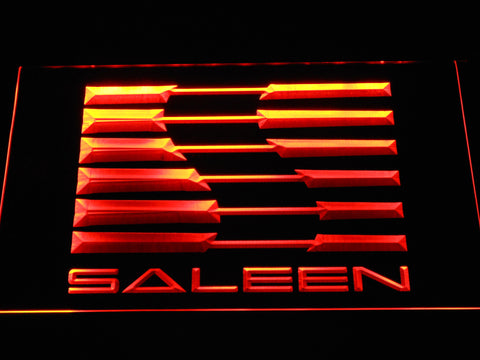 Image of Saleen LED Neon Sign - Orange - SafeSpecial