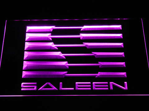 Image of Saleen LED Neon Sign - Purple - SafeSpecial