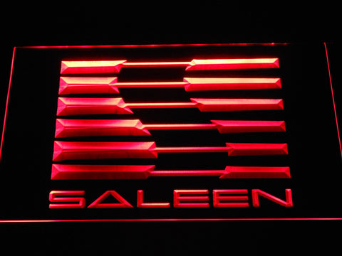 Image of Saleen LED Neon Sign - Red - SafeSpecial