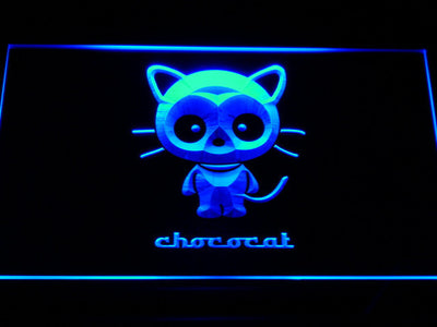 Sanrio Chococat LED Neon Sign - Blue - SafeSpecial
