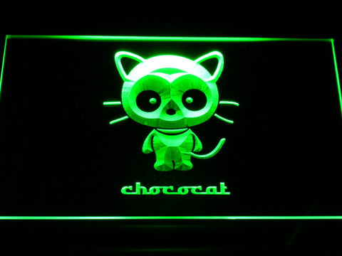 Image of Sanrio Chococat LED Neon Sign - Green - SafeSpecial