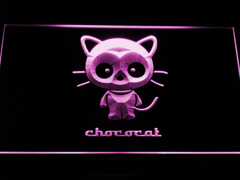 Image of Sanrio Chococat LED Neon Sign - Purple - SafeSpecial
