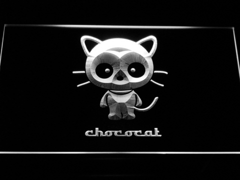 Image of Sanrio Chococat LED Neon Sign - White - SafeSpecial