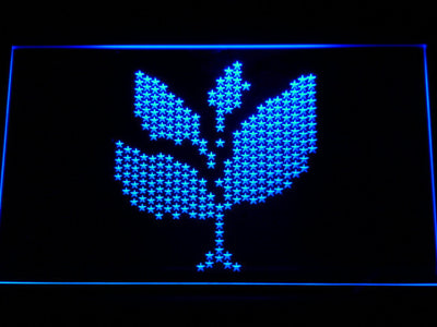 Sasha and John Digweed Spring Club Tour 2008 LED Neon Sign - Blue - SafeSpecial