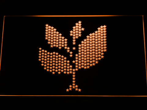 Image of Sasha and John Digweed Spring Club Tour 2008 LED Neon Sign - Orange - SafeSpecial