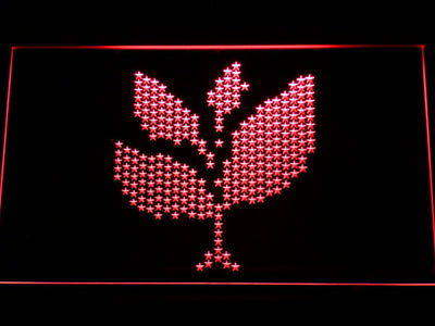 Sasha and John Digweed Spring Club Tour 2008 LED Neon Sign - Red - SafeSpecial