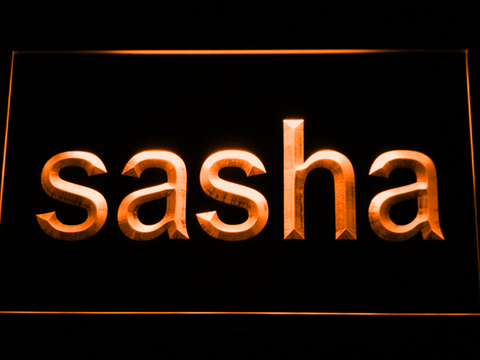 Image of Sasha LED Neon Sign - Orange - SafeSpecial