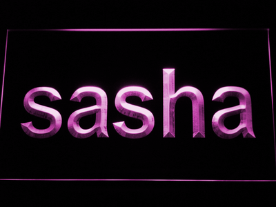 Sasha LED Neon Sign - Purple - SafeSpecial