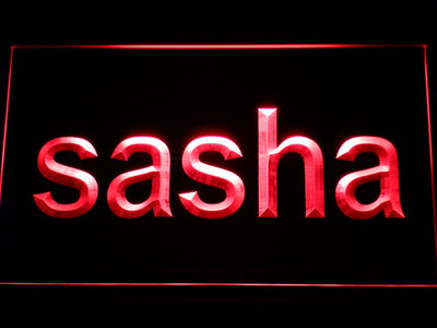 Sasha LED Neon Sign - Red - SafeSpecial