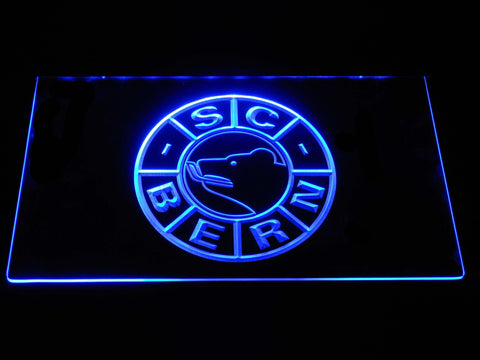 Image of SC Bern LED Neon Sign - Blue - SafeSpecial