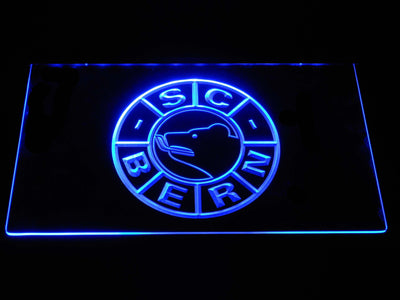 SC Bern LED Neon Sign - Blue - SafeSpecial