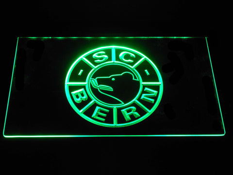 Image of SC Bern LED Neon Sign - Green - SafeSpecial