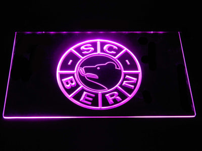 SC Bern LED Neon Sign - Purple - SafeSpecial