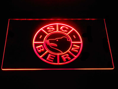 SC Bern LED Neon Sign - Red - SafeSpecial