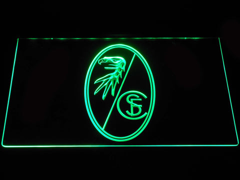 SC Freiburg LED Neon Sign - Green - SafeSpecial