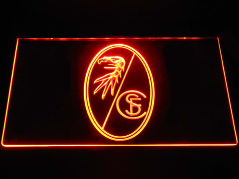 SC Freiburg LED Neon Sign - Orange - SafeSpecial