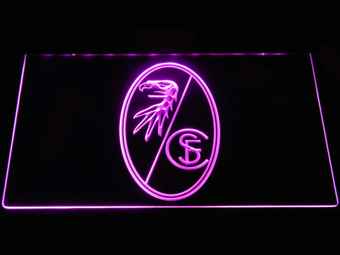 SC Freiburg LED Neon Sign - Purple - SafeSpecial