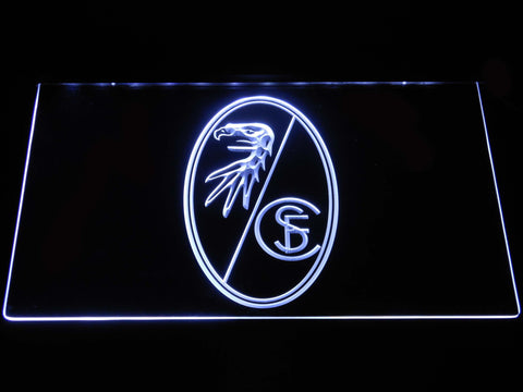 SC Freiburg LED Neon Sign - White - SafeSpecial