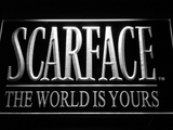 Scarface The World is Yours LED Neon Sign - White - SafeSpecial