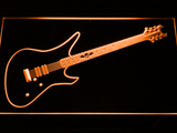 Schecter Synyster LED Neon Sign - Orange - SafeSpecial
