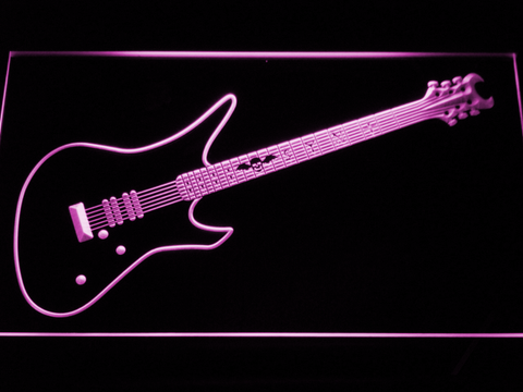 Schecter Synyster LED Neon Sign - Purple - SafeSpecial