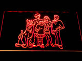 Scooby-Doo Mystery Inc. LED Neon Sign - Red - SafeSpecial