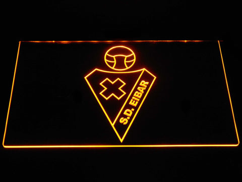 SD Eibar LED Neon Sign - Yellow - SafeSpecial