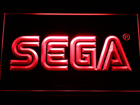 Image of Sega LED Neon Sign - Red - SafeSpecial